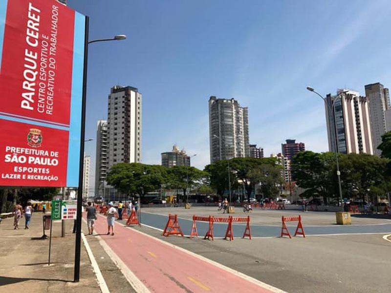Parque Ceret fecha mais cedo após corte na segurança
