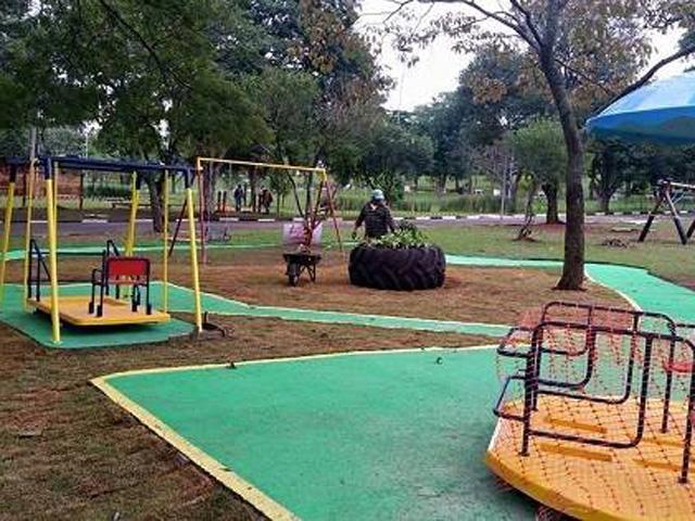 Playground Inclusivo Parque Ceret